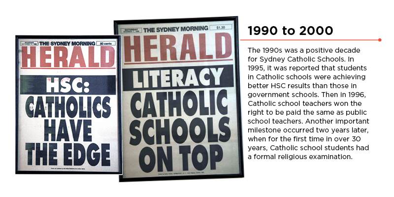 History 1990 to 2000