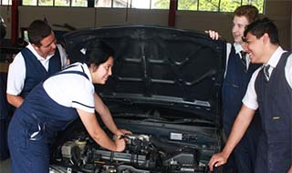 SCS Mechanical Students