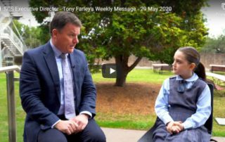 Exec Director weekly message 29 May 2020