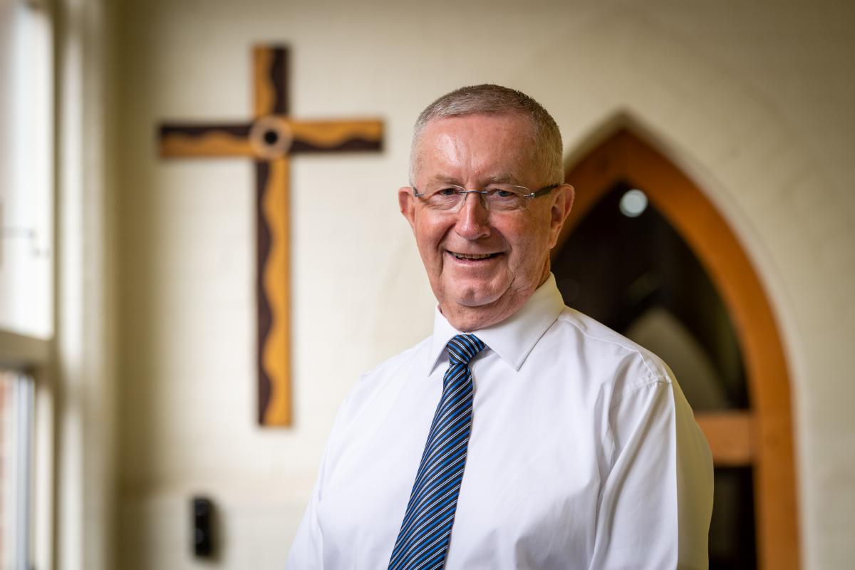 Sydney Catholic Schools' chaplain Father Gary Perritt