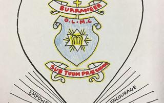 image of artwork heart shape OLMC Burraneer