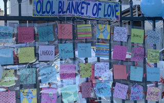 Our Lady of Lourdes Catholic Primary School Earlwood's Blanket of Love
