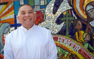 Principal of Holy Spirit Catholic Primary School Carnes Hill, Brother Nicholas Patrick Harsas