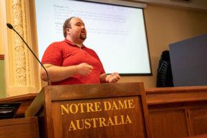 Dr Alan McCarthy, Discipline Head of Mathematics at University of Notre Dame Australia in Sydney