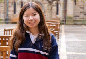 St Clare's College Waverley Year 12 student, Janice Nyoto