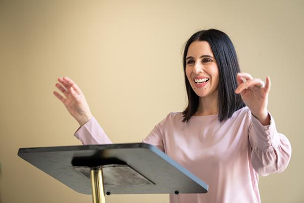 Sydney Catholic Schools' Specialist in the Creative and Performing Arts, Eva Spata