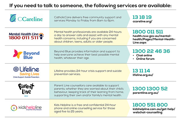 Counselling services digital graphic