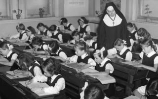 Sister Catherine Henry at St James Catholic Primary School Forest Lodge