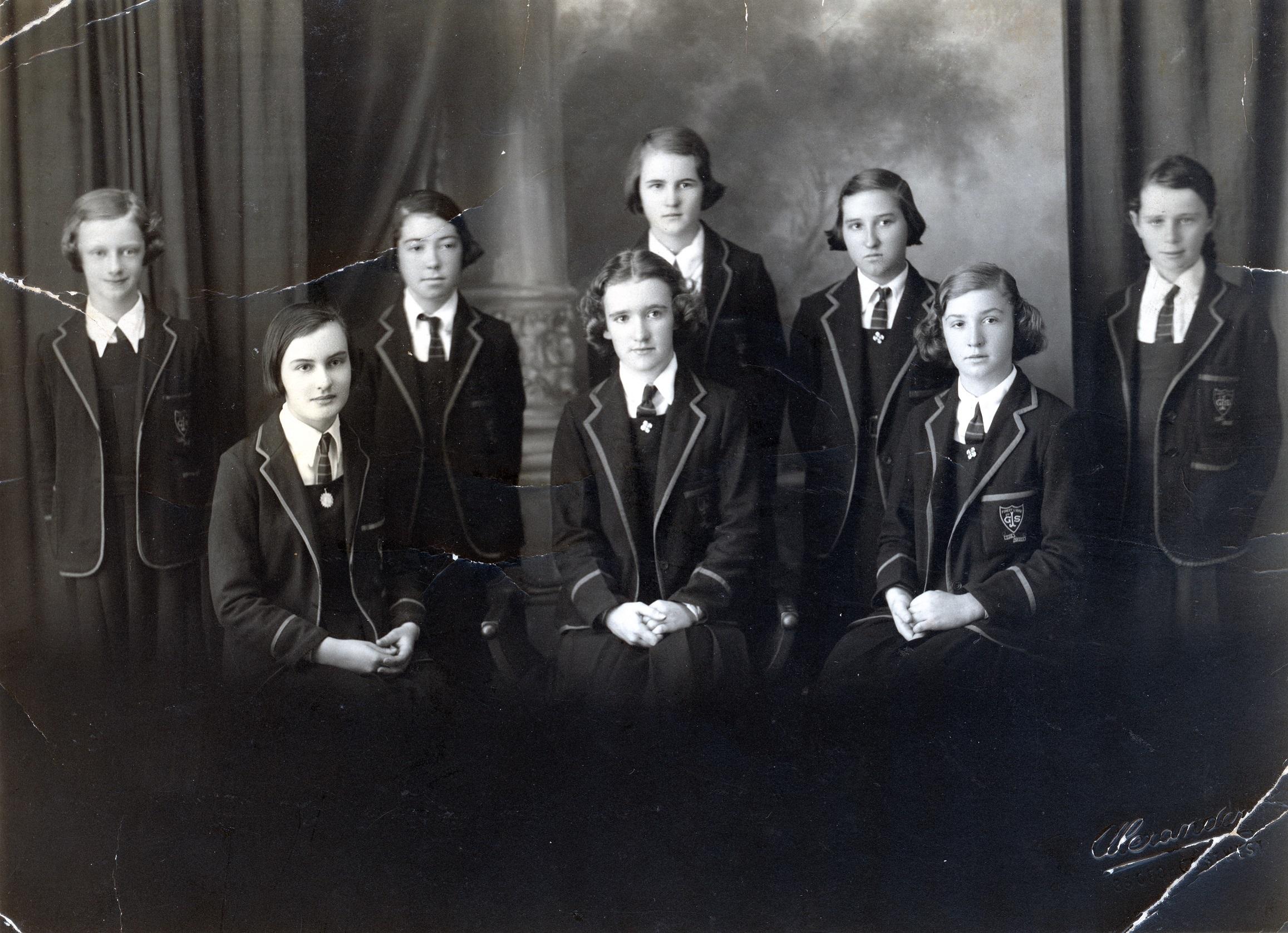 St James' 1936 Diocesan exam class