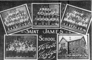 St James Catholic Primary School Forest Lodge school poster circa 1922