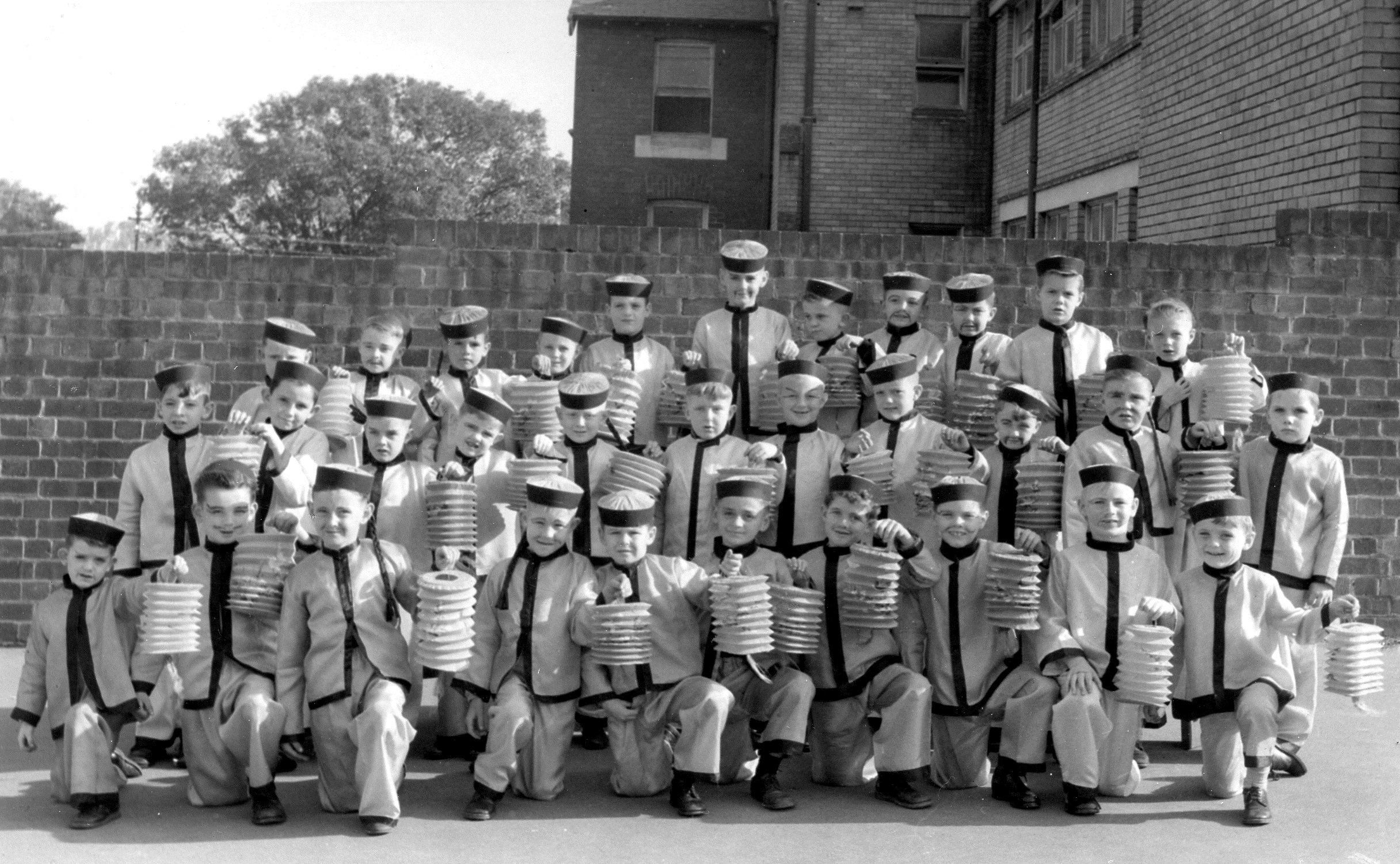 St James Year 2 pupils are pictured in 1956
