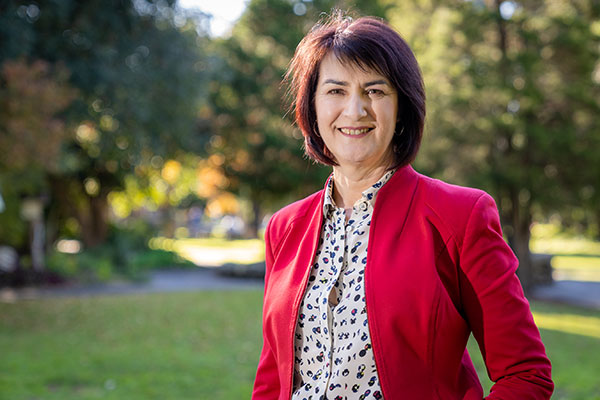 Sydney Catholic Schools' alumni and CEO of the Mental Health Coordinating Council, Carmel Tebbutt.
