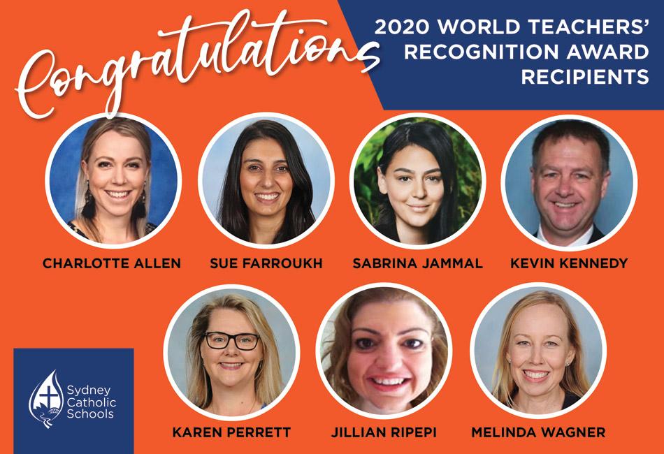 2020 World Teachers Day Award Recipients