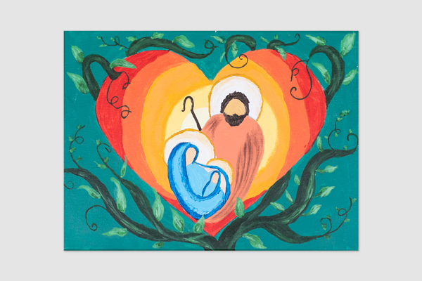 No. 23 Savannah Green Year 6 St Joseph's Catholic Primary School, Portland Entwined in Love