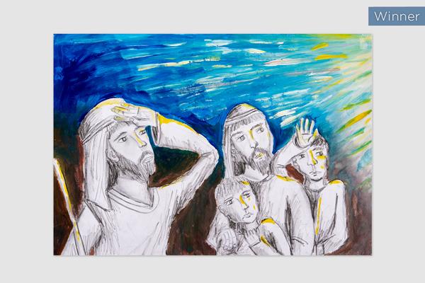 No. 63 Gergo Orgovanyi, St Patrick's Sutherland, The Shepherds