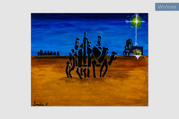 No.90 Emilia Vicano, Holy Spirit Carnes Hill, The Holy Journey of the Magi