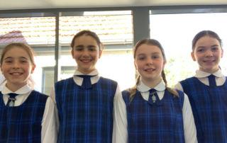 St Mary's Primary School North Sydney Tech Girls Movement team