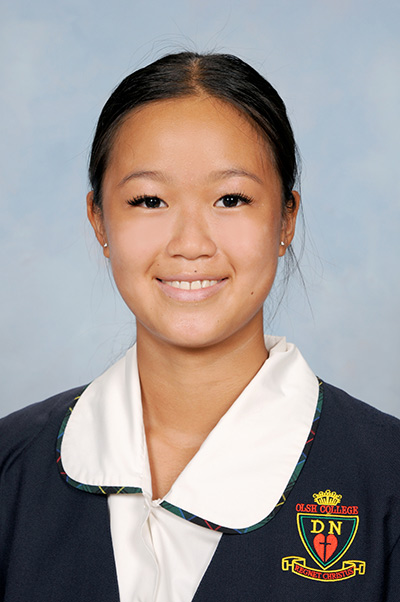 Our Lady of the Sacred Heart College Kensington student Constance Koh