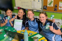 Students from St Michael's Daceyville