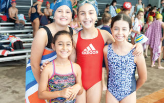 Swimmers at the Sydney Catholic Schools Zone 6 Swimming Carnival