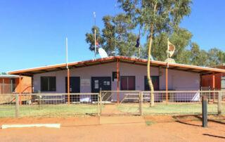Central Desert Regional Council office.