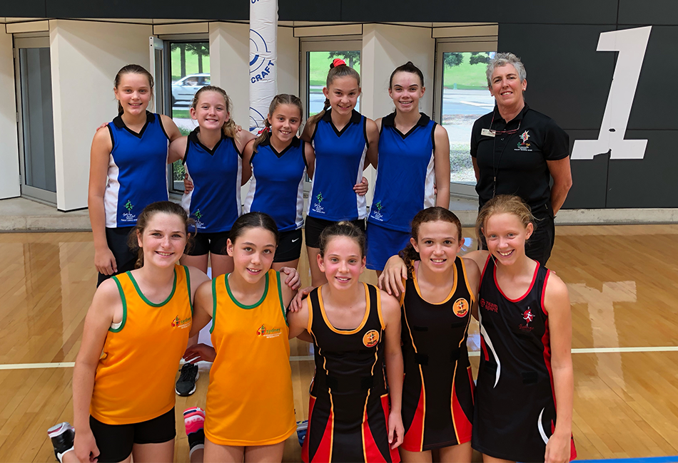 Selected team for MacKillop netball team 2021