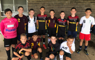 Selected team for Soccer Sydney Archdiocese