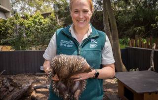 Georgina Cairns Taronga Zoo Sydney education officer