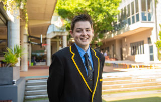 Harrison Edwards student from Marist North Shore