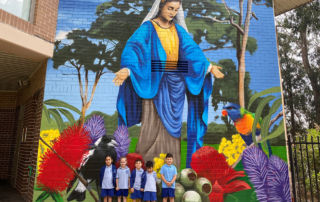 Mary Mural at St Mary's Georges Hall