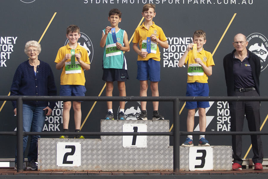 2021 Cross Coutry Podium Boys 10 Group D