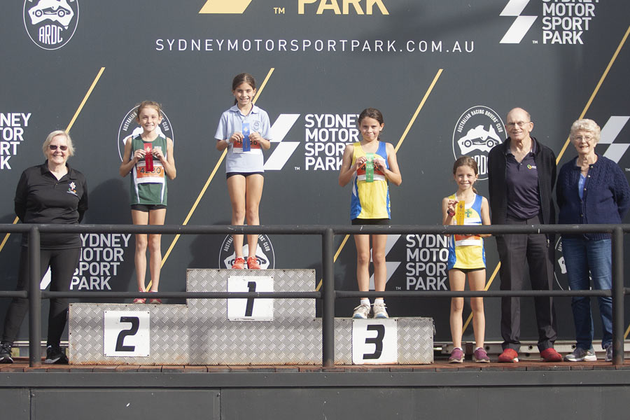 2021 Cross Country Podium Girls 10 Group D