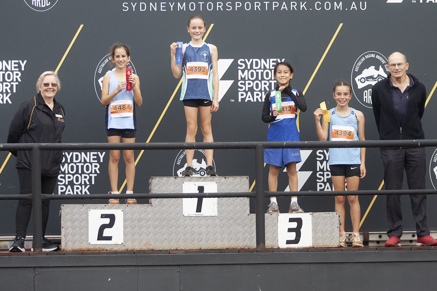 2021 Cross Country Podium Girls 11 Group D
