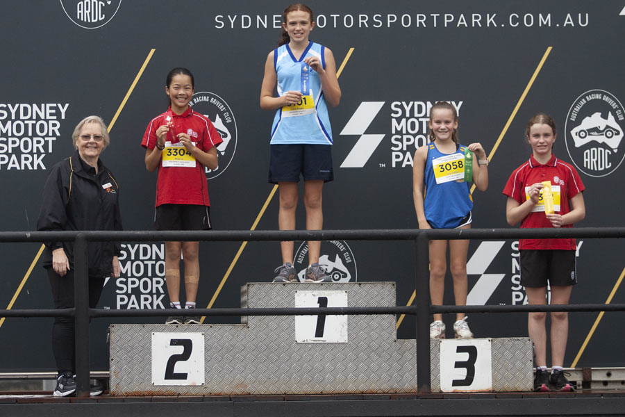2021 Cross Country Podium Girls 12 Group A