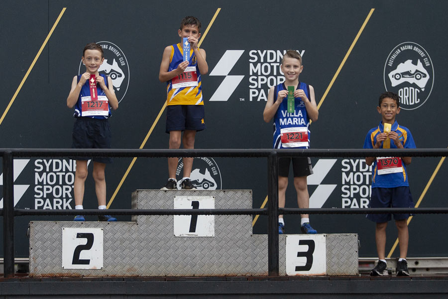 2021 Cross Country Podium Boys 8/9 Group A