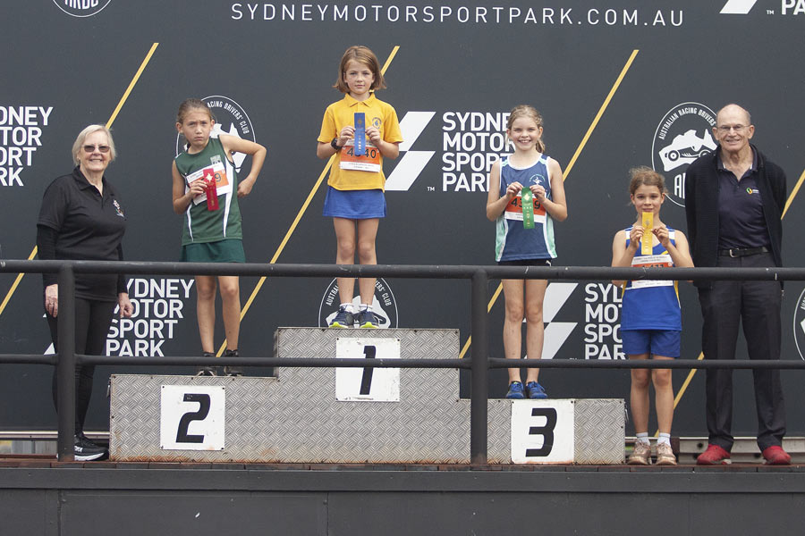 2021 Cross Country Podium Girls 8/9 Group D
