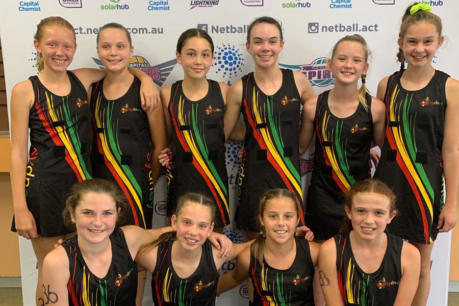 Sydney Catholic Schools' Netball team