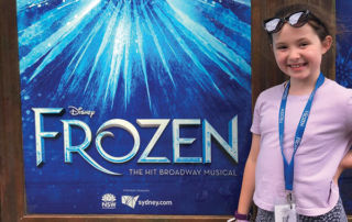 Our Lady Of Fatima Kingsgrove student in Frozen musical