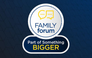 Parent Forum Part of Something Bigger