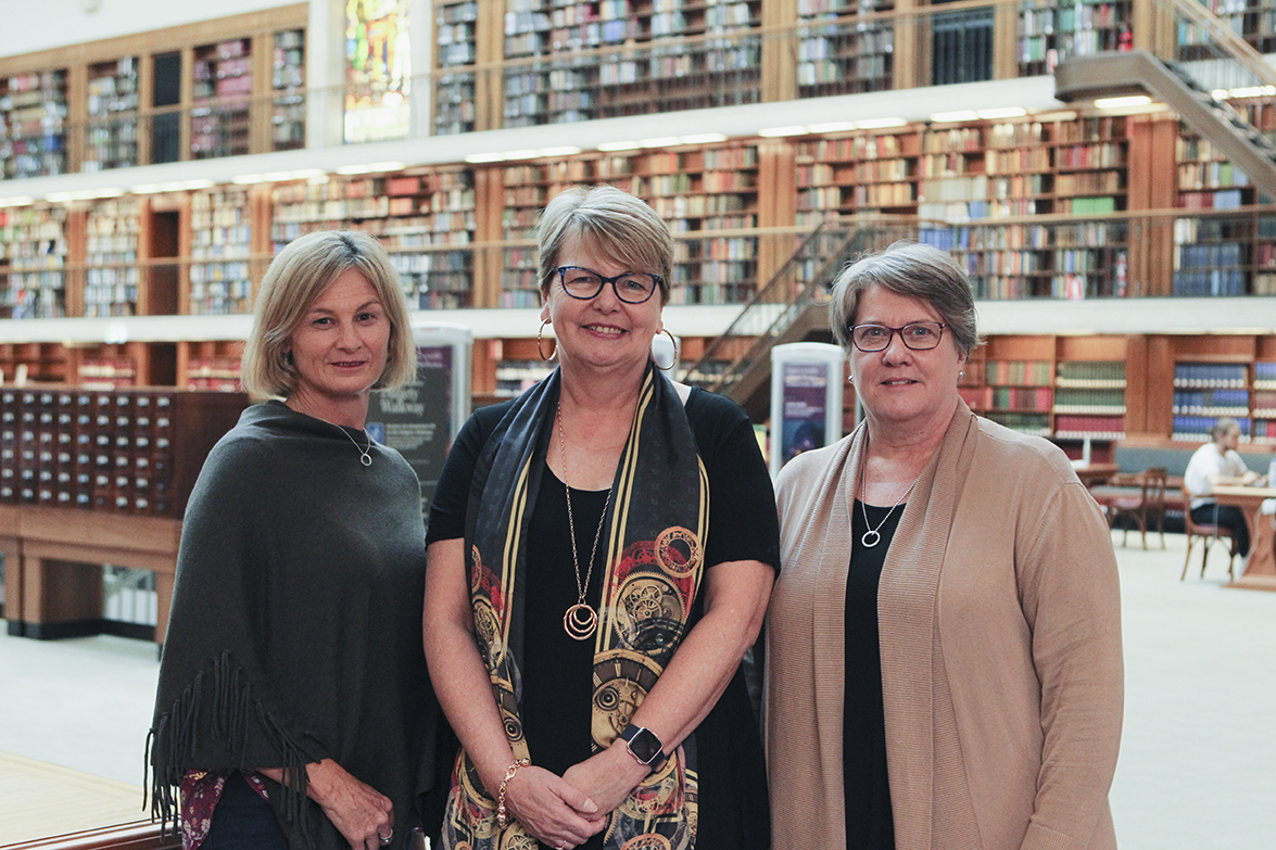 Teacher librarians from Sydney Catholic Schools at the State Library of NSW