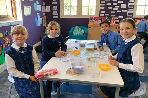 McAuley Rose Bay Students