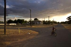 WriteOn 2021 image of a boy on a bike