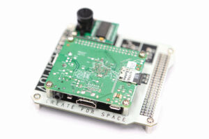 A Raspberry Pi used for the Cuberider project in 2016.