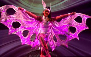 A Sydney Catholic Schools CaSPA student performing in the groundbreaking Triskelion dance film