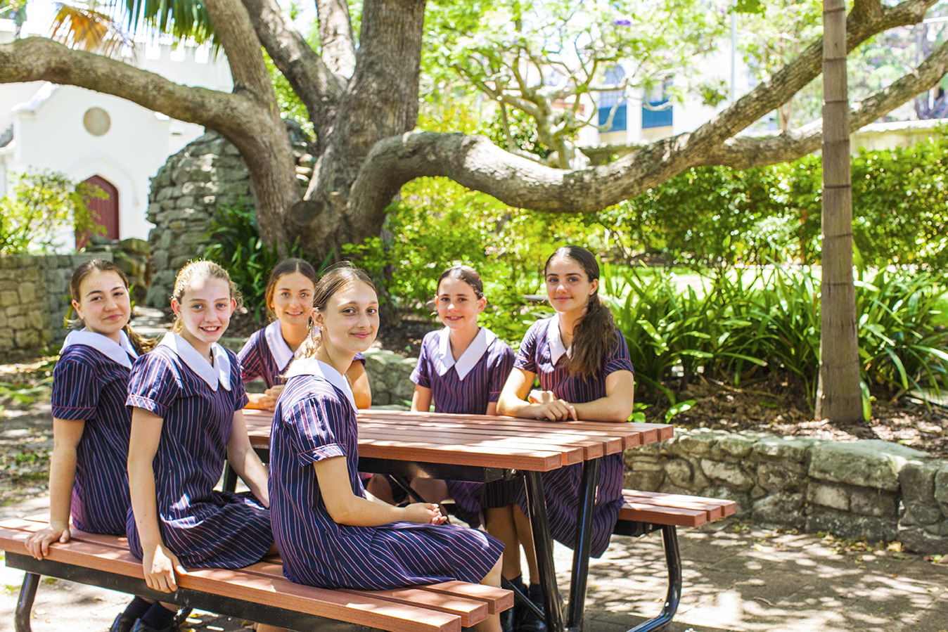 Students at St Clare's College Waverley, an Australian Education Awards finalist.