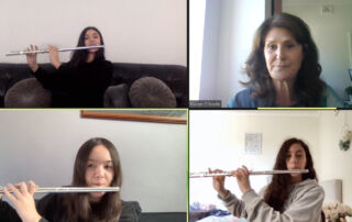 Holy Spirit Catholic College Lakemba holds an Amadeus Music Program lesson via Zoom