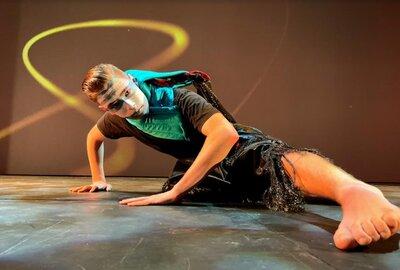 A Sydney Catholic Schools student performs as part of Triskelion Dance Wars