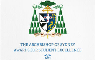 Archbishop of Sydney Awards for Student Excellence 2021