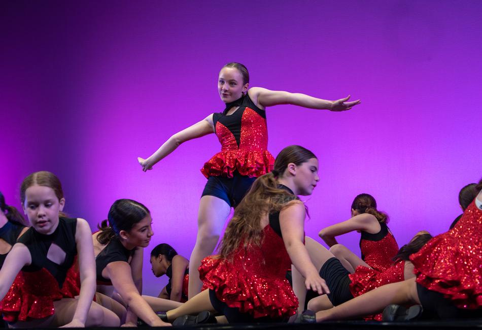 Eisteddfod dance routine