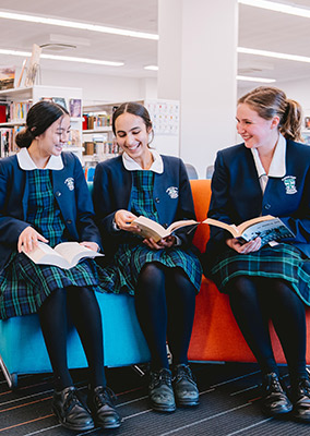 Students at St Ursula's